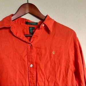 Ralph Lauren• Button Down Long Shirt